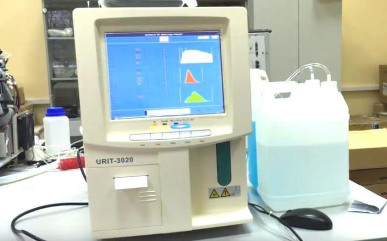 Гематологический анализатор URIT 3020 на испытаниях