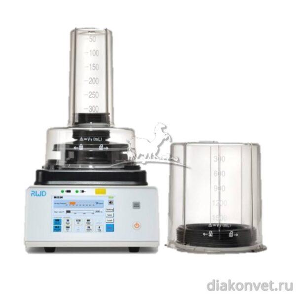 Ветеринарный наркозный аппарат искусственной вентиляции легких R409 plus