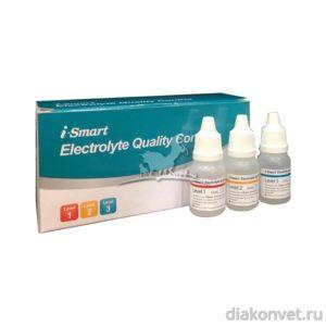 Набор контрольных материалов для анализатора электролитов i-Smart 30Vet